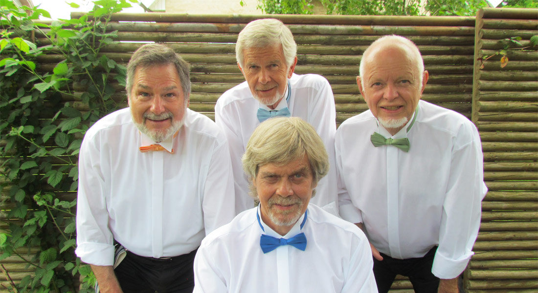 Barbershop, showsang, a capella, underholdning, booking